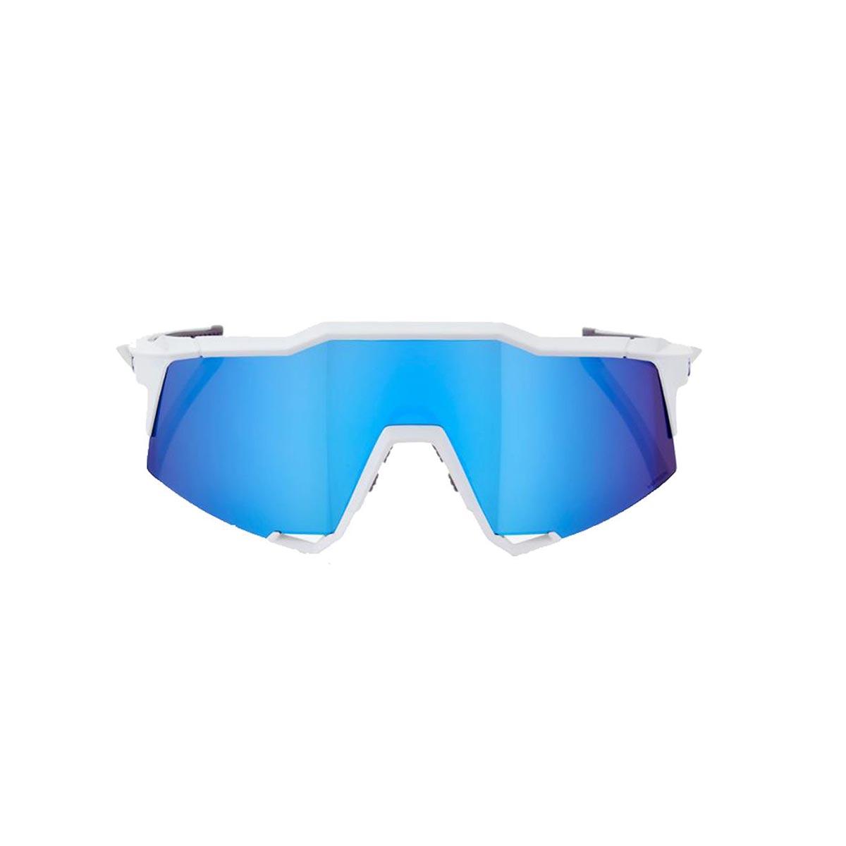 05fe672c592 SpeedCraft - Matte White - HIPER Blue Multilayer Mirror lens - Pure  Endurance