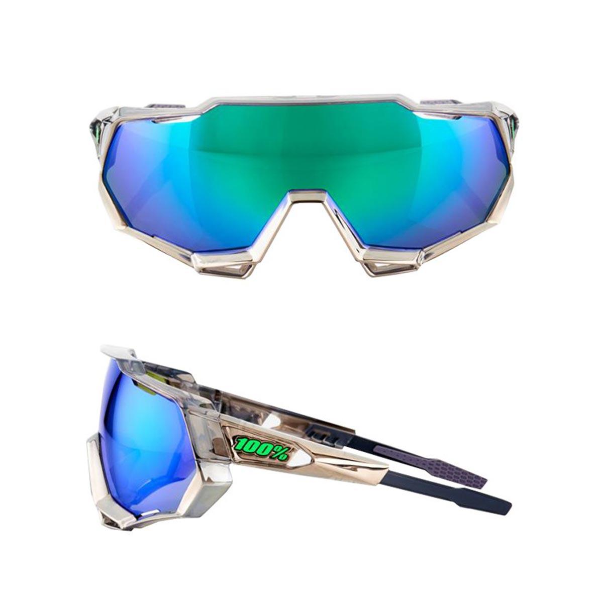 468cf8fa1bb Speedtrap - Peter Sagan Chromium Gunmetal - Green Multilayer Mirror - Pure  Endurance